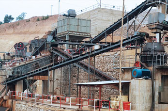 Efficient quarry crusher in sand processing production line
