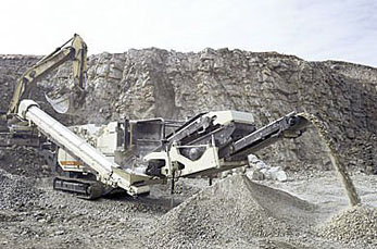 Mobile crusher promote the development of green recycling economy