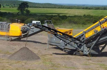 Portable crusher is the focus of development of mining machinery