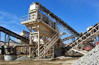 Stone crusher application in the mining industry